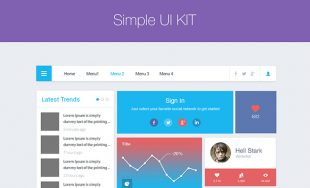 Simple UI Kit